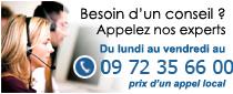 contactez nous par téléphone