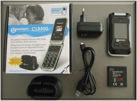 telephone portable senior geemarc 8500
